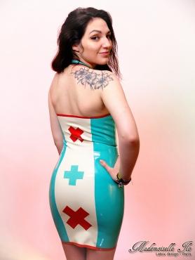 Two Tone Nurse dress size S