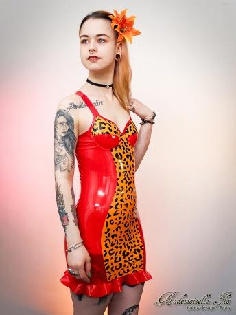 Leopard dress size XS