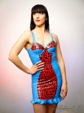 Robe Léopard taille S