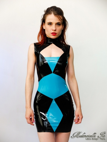 Geometrical dress taille S