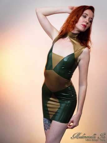 Geometrical dress size XS