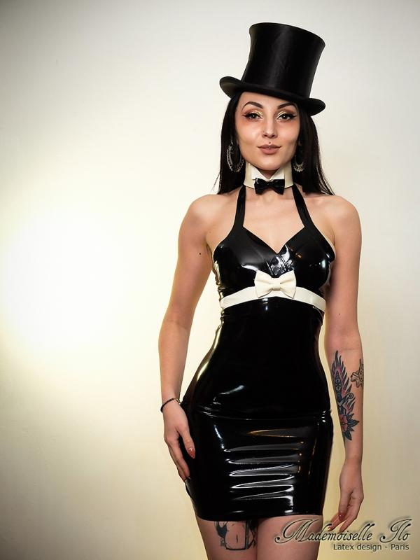 Mademoiselle Ilo Candy Dress Latex Rubber Paris France