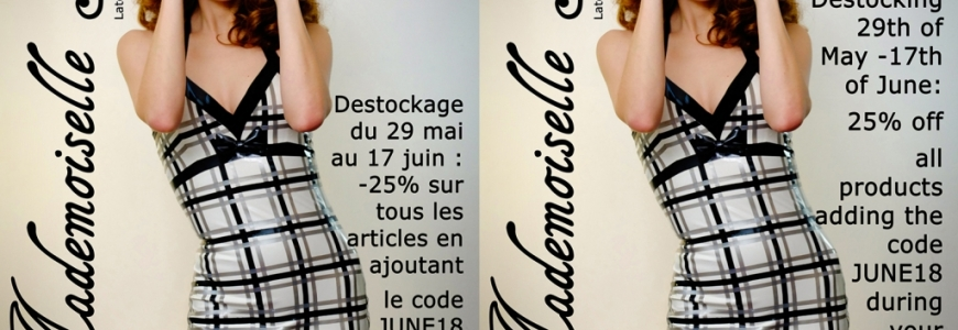 Destockage en Juin