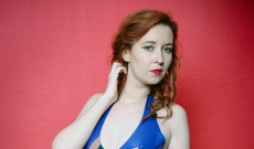 Photoshoot : Robe PinUp Delaunay, Summertime spéciale Noël et Star catsuit